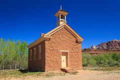Old fashioned school house. Royalty Free Stock Image