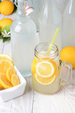 Old Fashioned Sparkling Lemonade Royalty Free Stock Images