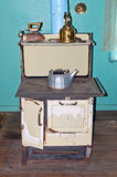 Old-fashioned stove Stock Image