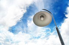 Old fashioned street lamp Royalty Free Stock Photos