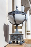 Old-fashioned street lamp Stock Photo