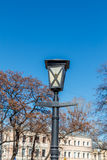 Old-fashioned street lamp Royalty Free Stock Photo