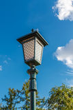 Old-fashioned street lamp Royalty Free Stock Images