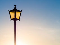 Old fashioned street lamp Royalty Free Stock Photo