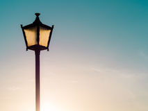 Old fashioned street lamp Stock Photography