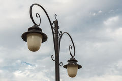The old-fashioned street lamp, Istanbul, Turkey Stock Photos