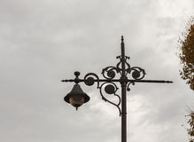 The old-fashioned street lamp, Istanbul, Turkey Stock Images