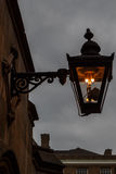 The old-fashioned street lamp, London, England Royalty Free Stock Photo