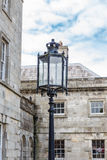 Old-fashioned street lamp. Powerscourt. Ireland. Royalty Free Stock Images