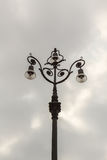 The old-fashioned street lamp, Savona, Italy Royalty Free Stock Image