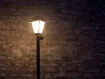 Old fashioned street light Stock Photos