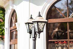 Old Fashioned Street Light Stock Photography