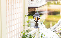 Old Fashioned Street Light Stock Image