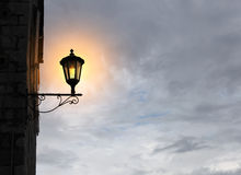 Old fashioned street light Stock Images
