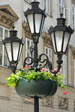 Old fashioned street lights Royalty Free Stock Photography