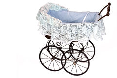 Old fashioned stroller Stock Photography