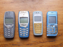 Old fashioned style cell phone Stock Photography