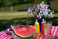 Old Fashioned Summer Picnic Royalty Free Stock Photo