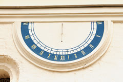 Old fashioned sun dial Stock Image