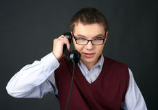 Old-fashioned technical support Royalty Free Stock Photography