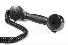 Old-fashioned telephone Stock Images