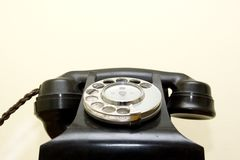 Old Fashioned telephone stock photo