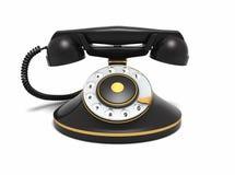 Old-fashioned telephone Royalty Free Stock Image