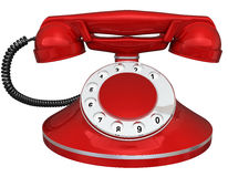 Old-fashioned telephone Royalty Free Stock Images