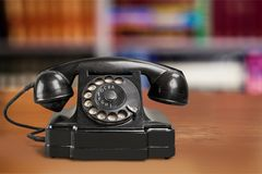 Old-fashioned Telephone Stock Photography