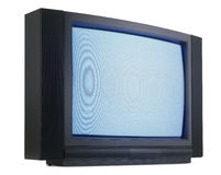 Old fashioned television Royalty Free Stock Photo