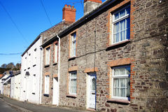 Old fashioned terraced houses Stock Photography