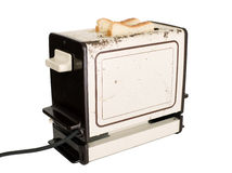 Old fashioned toaster Royalty Free Stock Image
