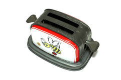 Old Fashioned Toaster toy Royalty Free Stock Images