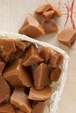 Old Fashioned Toffee Caramels Stock Image