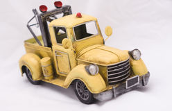 Old fashioned toy truck Stock Images