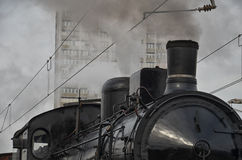 Old fashioned train Royalty Free Stock Photos
