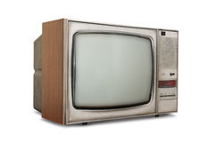 Old-fashioned tube TV Stock Photography