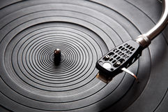 Old fashioned turntable Royalty Free Stock Photo