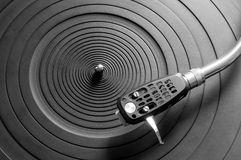 Old fashioned turntable Stock Photography