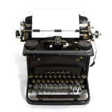 Old-fashioned typewriter Stock Image