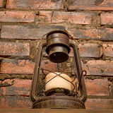 Old fashioned vintage lamp Stock Photos