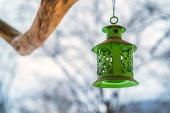 Old fashioned vintage lamp Royalty Free Stock Photo