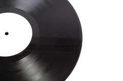 Old fashioned vinyl record Stock Images