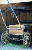 Old fashioned Wagon. An old fashioned horse and buggy wagon Royalty Free Stock Photos