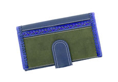 Old fashioned wallet Royalty Free Stock Images