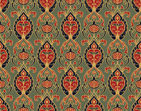 Old-fashioned wallpaper. Royalty Free Stock Images