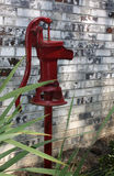Old fashioned water well pump Stock Photography
