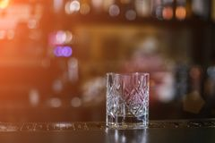 Old Fashioned whiskey coctail royalty free stock photography