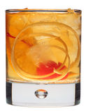 Old Fashioned on white Stock Photo