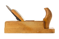 Old fashioned wood planer Royalty Free Stock Photo